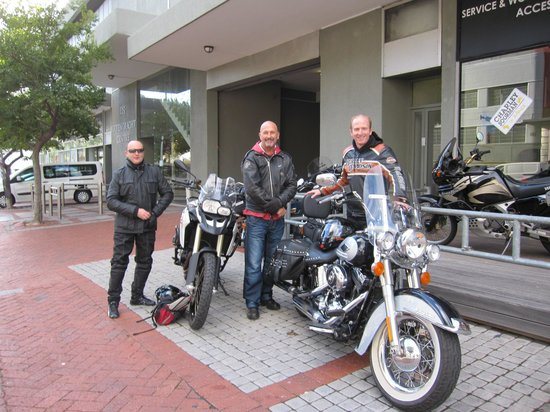 Cape Bike Travel and Motorbike Rental and Tours: Getting to know our bikes..