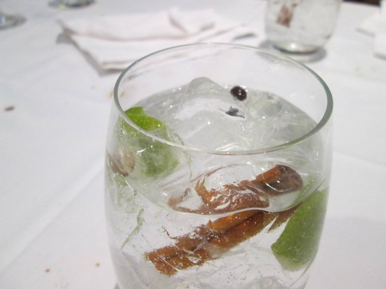 Restaurante Bar La Tropical : the famous G&T