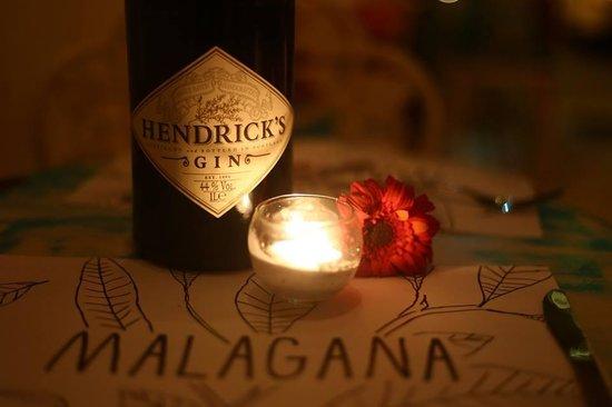 Malagana Café & Bar: gin