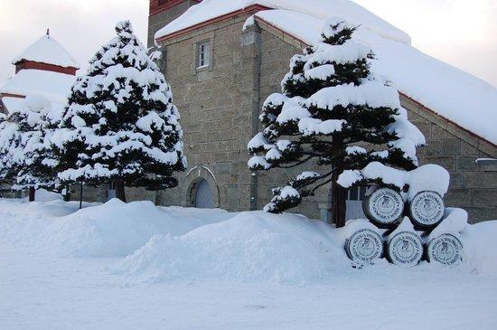 Nikka Whisky Yoichi Distillery: 冬のニッカ1