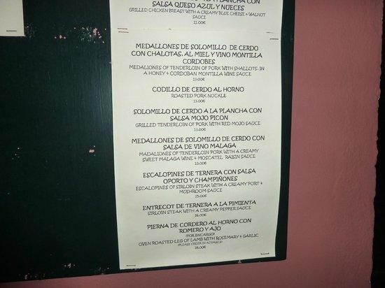 El Figon menu