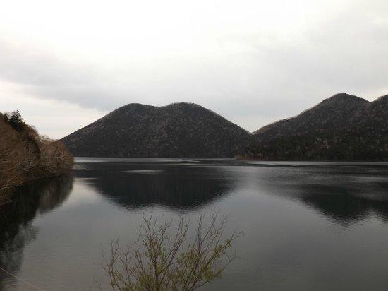 Hotel Fusui: 部屋からの然別湖