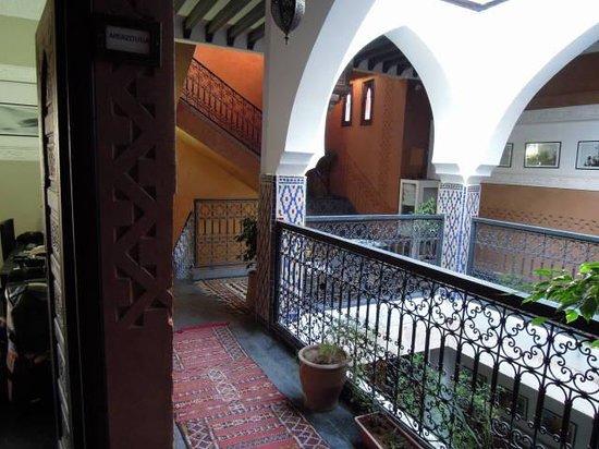 Hotel Azoul: trappenhuis