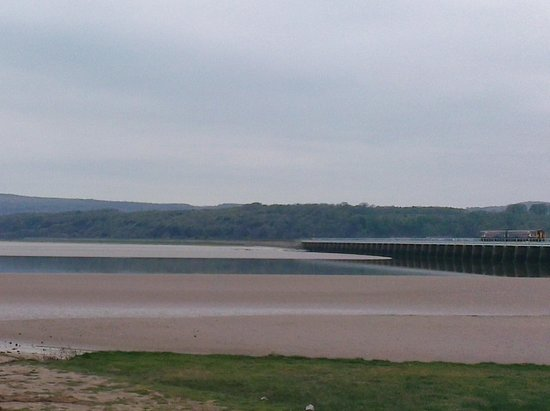 Arnside Chip Shop: View over bay