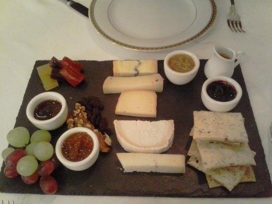 Sabor Brazil: Great cheese board