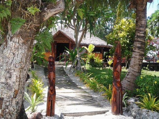 Oyster Island Resort: Restaurant Front