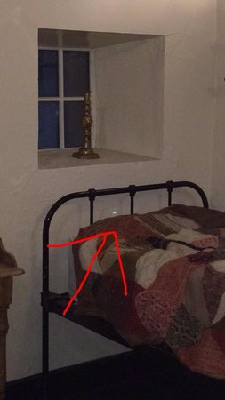 Ballygally Castle: Orb in ghost room!! Very interesting