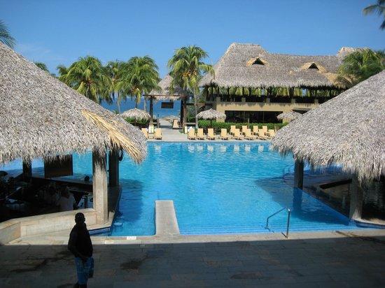 Flamingo Beach Resort & Spa: View of the pool