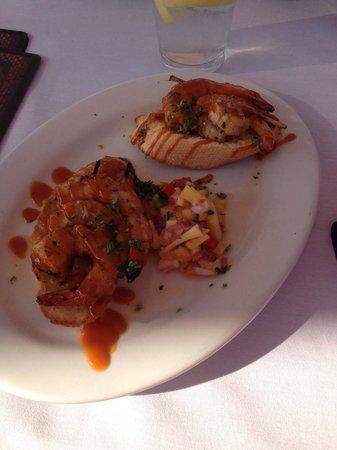 Hemingway's Island Grill: Jack's hurricane shrimp