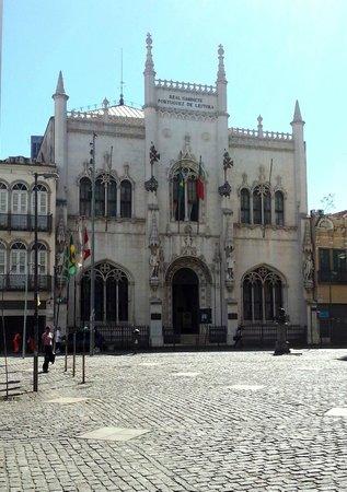 Real Gabinete Portugues Da Leitura : Uma volta no tempo