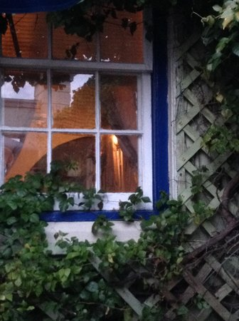 Freeport Seafood Restaurant : The Window by the Garden