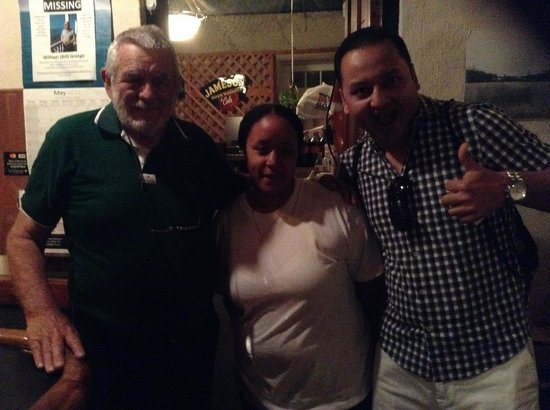 Freeport Seafood Restaurant : With Mr. Ausendio and Tanel