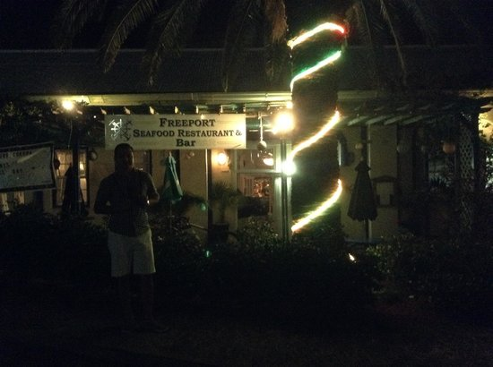 Freeport Seafood Restaurant: By Night