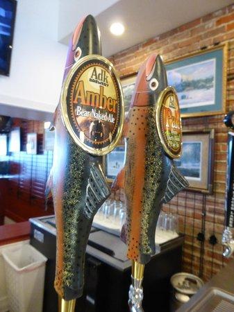 Coyote Moon Vineyards: beer is also sold