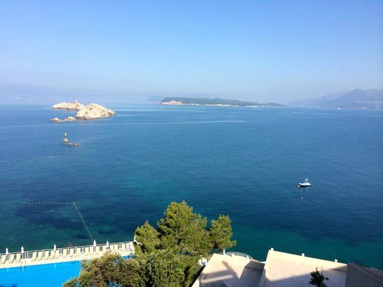 Hotel Dubrovnik Palace: gorgeous views from the room 913