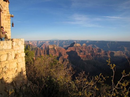 Grand Canyon Lodge - North Rim: View from outer terrace