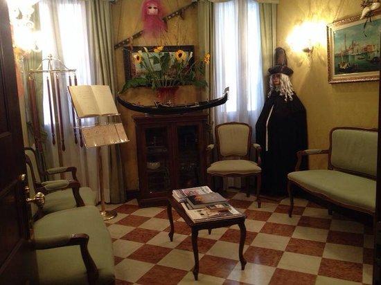 Antica Locanda al Gambero : Sala da recepção!