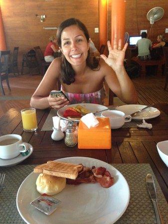 Phi Phi The Beach Resort : breakfast