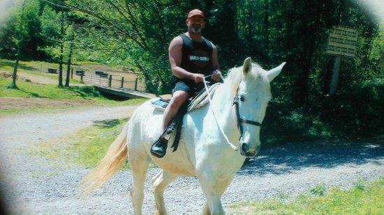 Big Rock Dude Ranch at Ponderosa : me looking cool