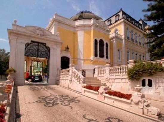 Pestana Palace Lisboa: entrance