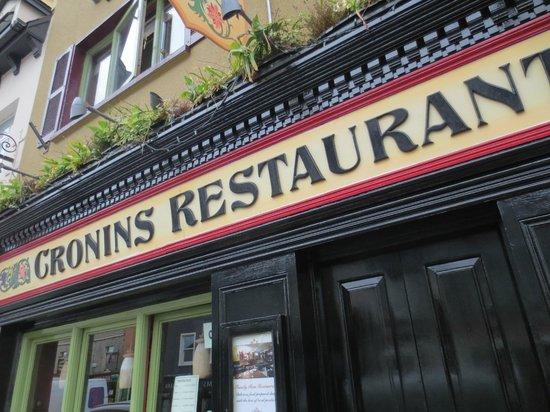 Cronins Restaurant: Cronin's Restaurant