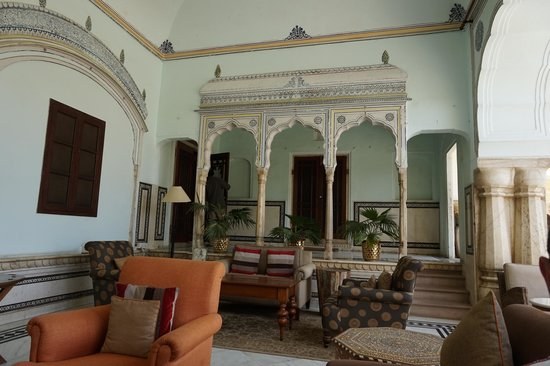 Samode Haveli : Lounge area