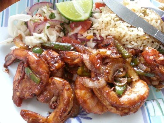 Pescaderia San Carlos: spicy shrimp