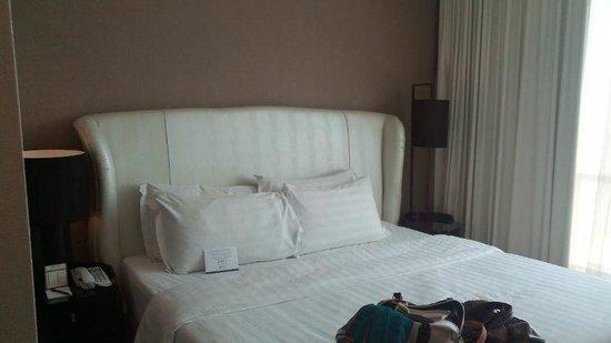 Hatten Hotel Melaka : Junior suite comfortable bed