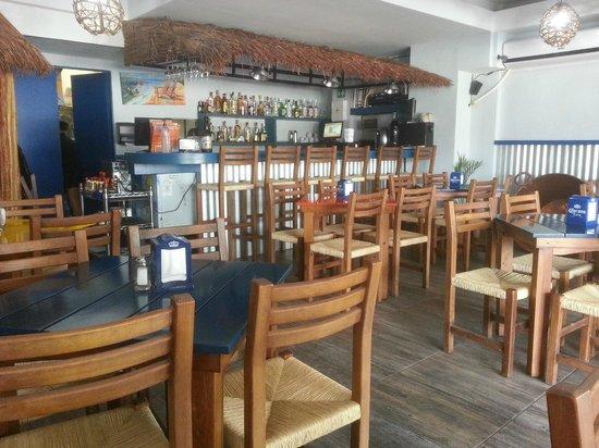 Tacamaron: Inside the restaurant