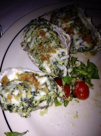 Vic & Anthony's Steakhouse - Las Vegas : Oysters Rockafeller