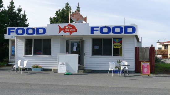 The Top Shop - Best Fish 'n Chips in Kaikoura!