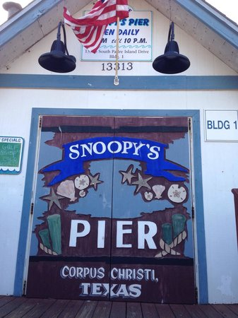 Snoopy's Pier : Not impressed
