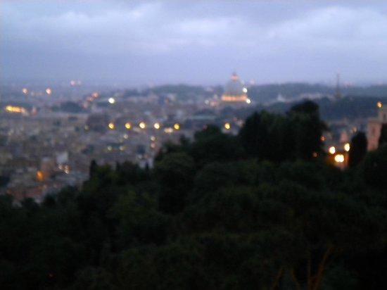 Rome Cavalieri, Waldorf Astoria Hotels & Resorts: Panorama dal terrazzo