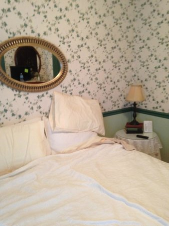 Artful Lodger Inn: Picture of Ivy room (the mess is ours!)