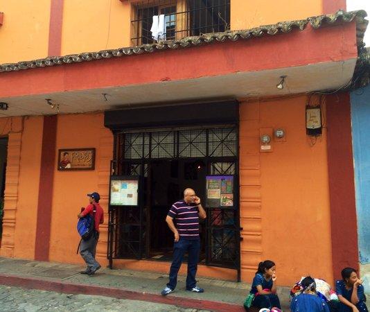 Fridas Mexican Restaurant & Bar: Street view