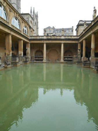 The Roman Baths: Another View of the Roman Bath