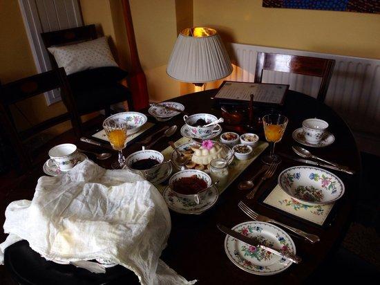 Kilcannon House Bed & Breakfast: Beautiful breakfast