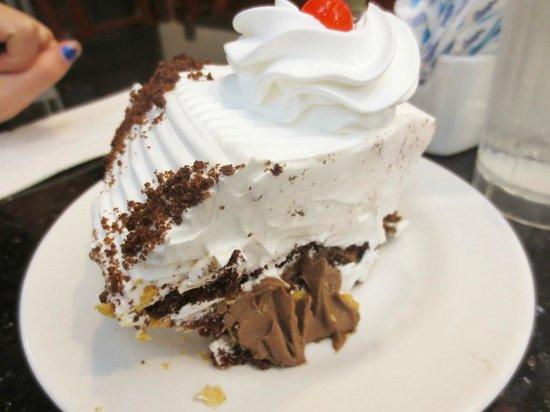 Cosmic Diner : Chocolate cream pie