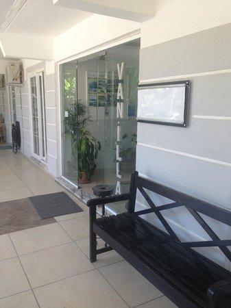 Vanilla Hotel: Reception