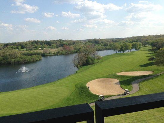Grand Geneva Resort & Spa : looking out my balcony at the Brute