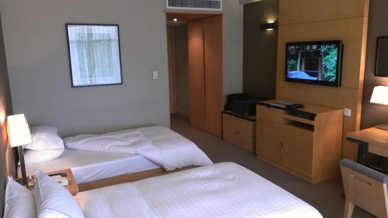 Jianguo Hotel : ツインルーム