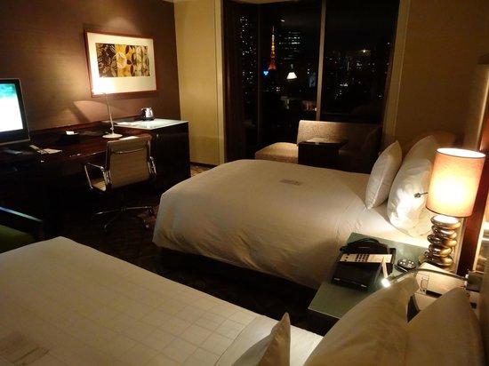Sheraton Miyako Hotel Tokyo: プレミアムツイン・東京タワービュー