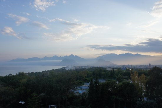 Rixos Downtown Antalya: View from sea view room on the 4th floor