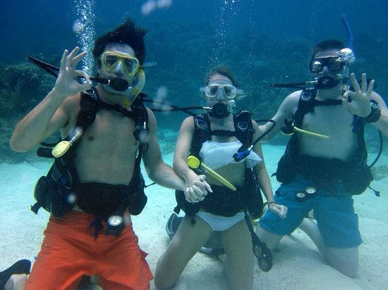 Coconut Tree Divers: Discover scuba (uncertified first dive)
