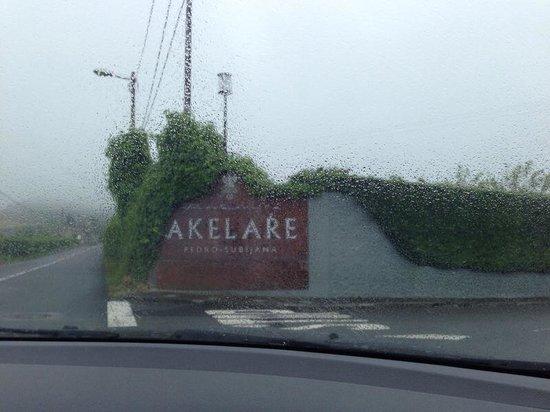 Restaurante Akelare: Entrance