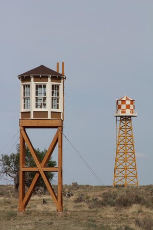 ‪‪Granada‬, ‪Colorado‬: Rebuilt water tower and reconstruction of guard tower‬