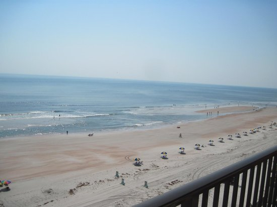 Tropic Shores Resort : Balcony view