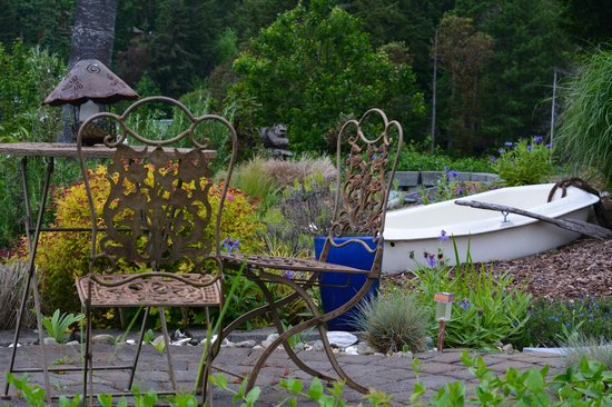 A Lighthouse on Hammersley Bed and Breakfast: Garden view