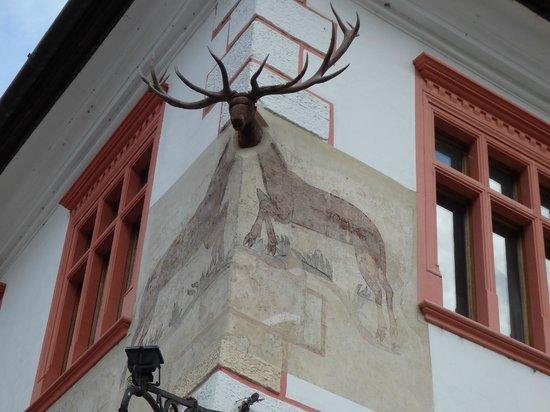Casa cu Cerb: The famed stag