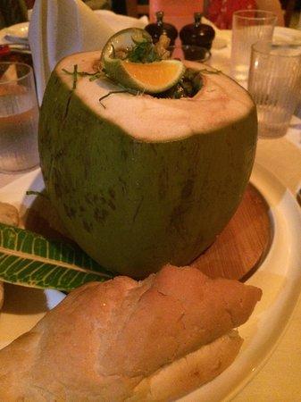 Aquana Beach Resort: Seafood Chowder